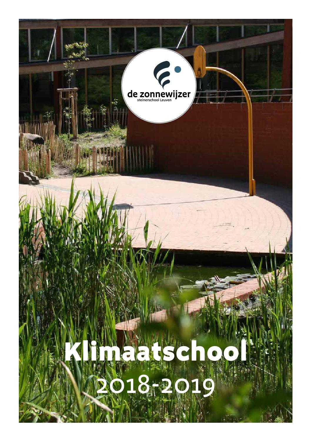 De Zonnewijzer = klimaatschool