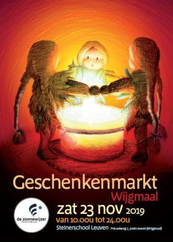 Geschenkenmarkt op zaterdag 23 november
