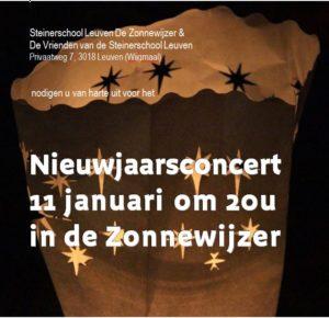 Nieuwjaarsconcert 11 januari