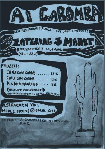 Ai Caramba-Restaurant op 3 maart
