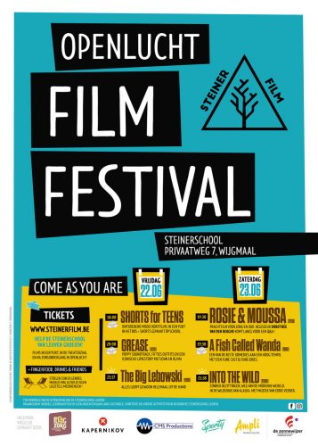 Openluchtfilmfestival op 22 en 23 juni