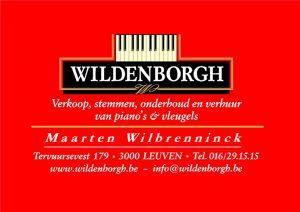 Logo van de firma Wildenborgh piano's