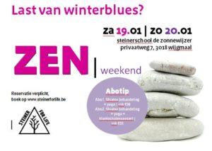 Zen weekend 19 en 20 januari
